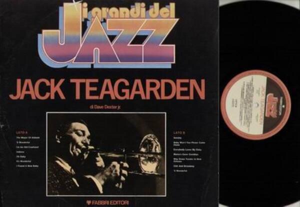 JACK TEAGARDEN - I grandi del Jazz Jack Teagarden - LP
