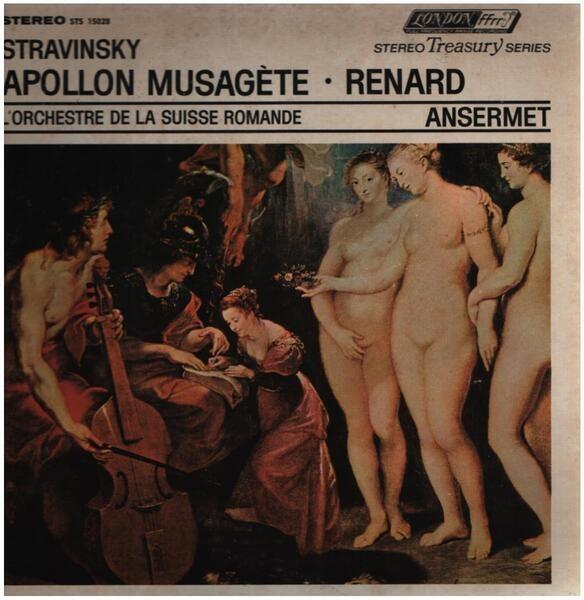 Igor Stravinsky - L'Orchestre De La Suisse Romande Apollon Musagète • Renard