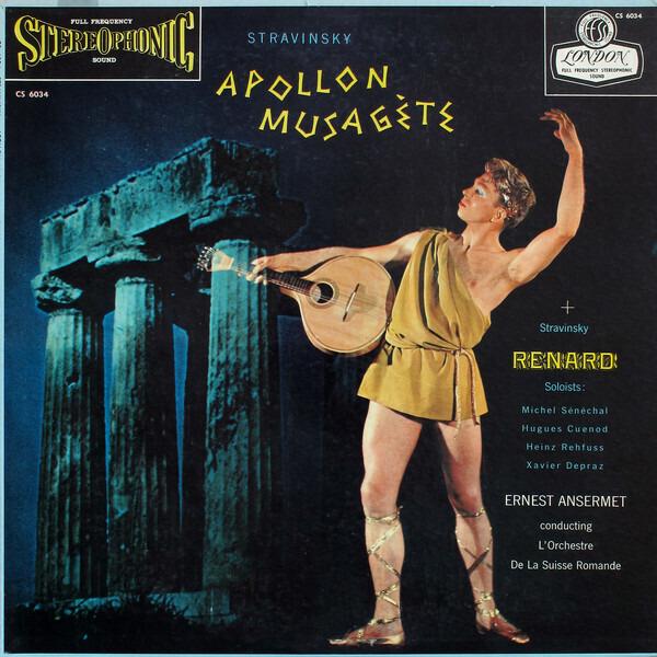 Igor Stravinsky , Ernest Ansermet Conducting L'Orc Apollon Musagète / Renard