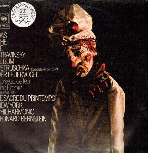 Igor Stravinsky , The New York Philharmonic Orches Das / The / Le Stravinsky Album (Petruschka / Der Feuervogel / Le Sacre Du Printemps)