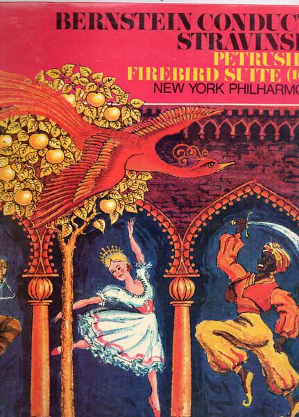 Igor Stravinsky Bernstein Conducts Stravinsky: Petrushka Suite / Firebird Suite