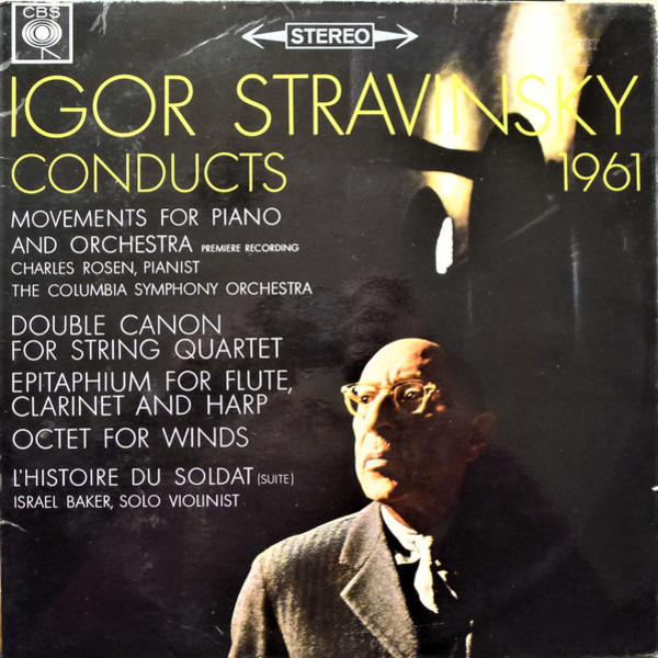 Igor Stravinsky Conducts, 1961