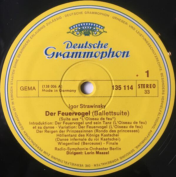Igor Stravinsky Der Feuervogel / Hàry Jànos-Suite