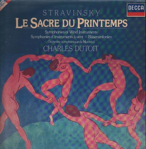 Igor Stravinsky Le Sacre Du Printemps / Symphonies Of Wind Instruments  (DIGITAL)