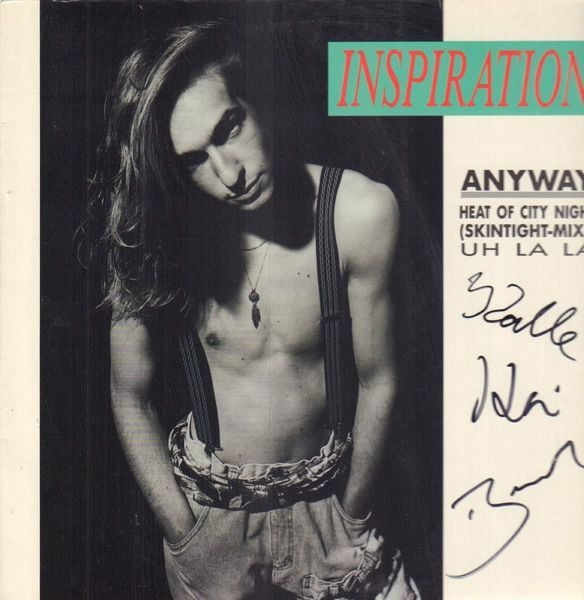 INSPIRATION - Anyway (SIGNED) - 12 inch x 1
