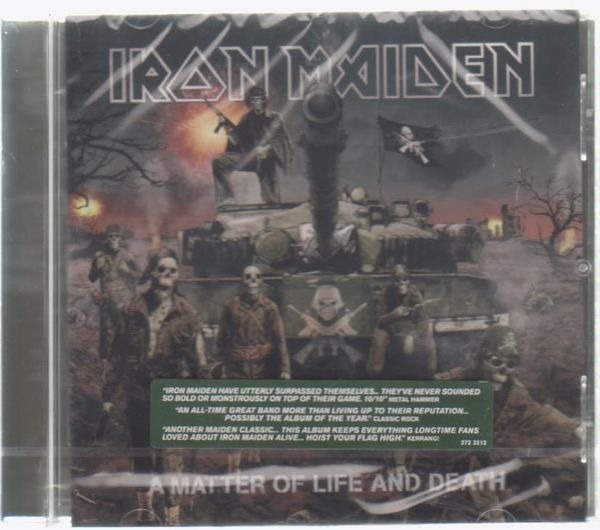 Iron Maiden A Matter Of Life And Death (STILL SEALED)