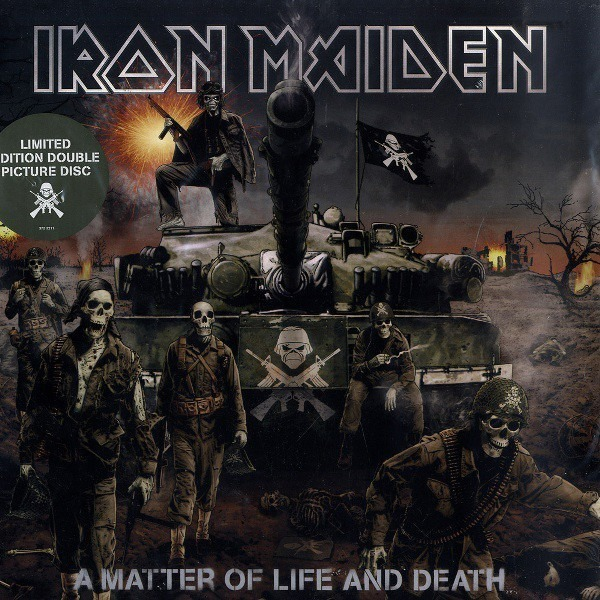 Iron Maiden A Matter Of Life And Death (PICTURE DISCS!)
