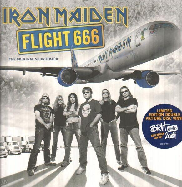iron maiden flight 666 (picture disc, still sealed, ltd)