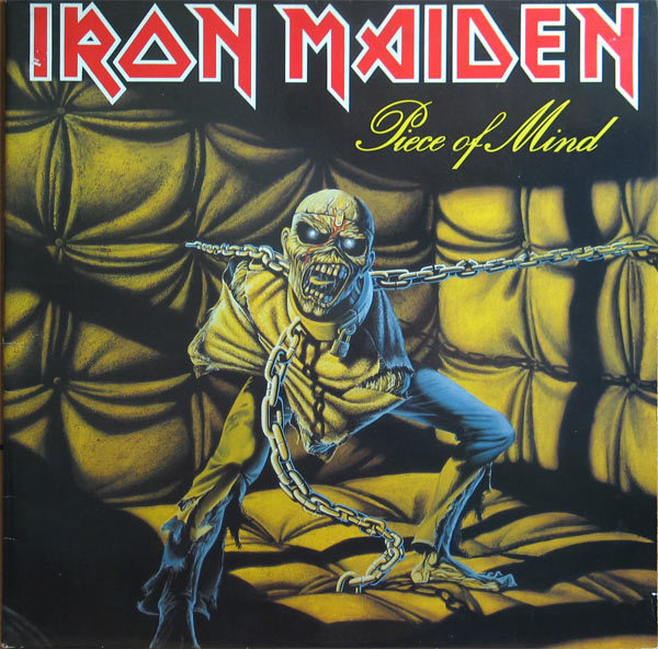 iron maiden piece of mind (gatefold)