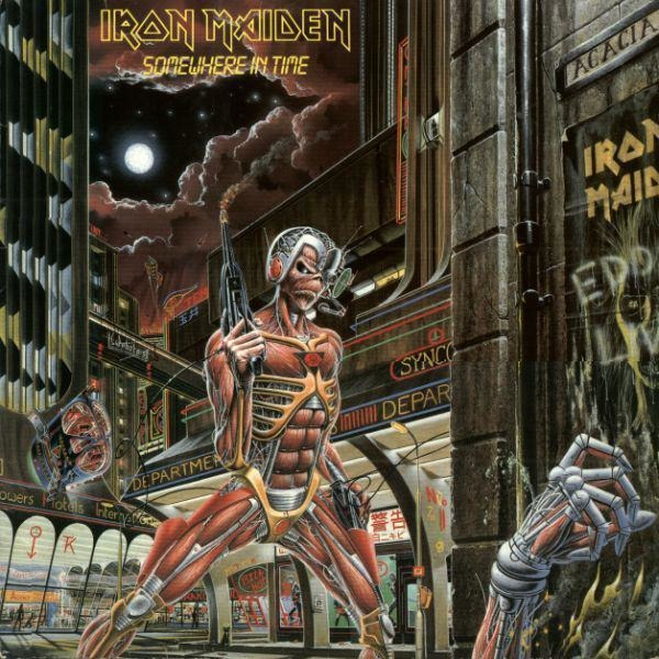 Iron Maiden Somewhere In Time (DMM)
