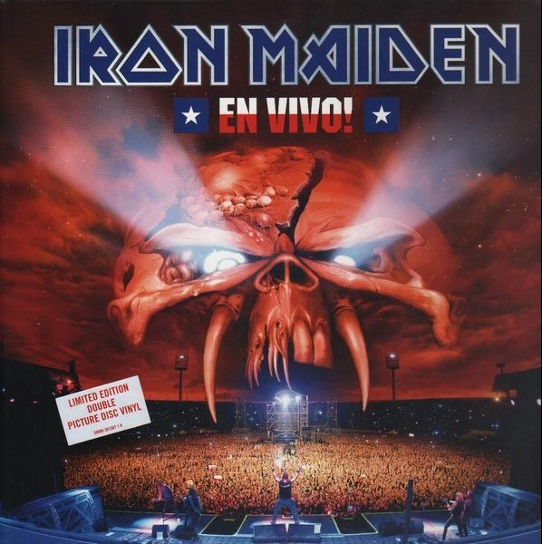 iron maiden en vivo! (still sealed, limited edition)