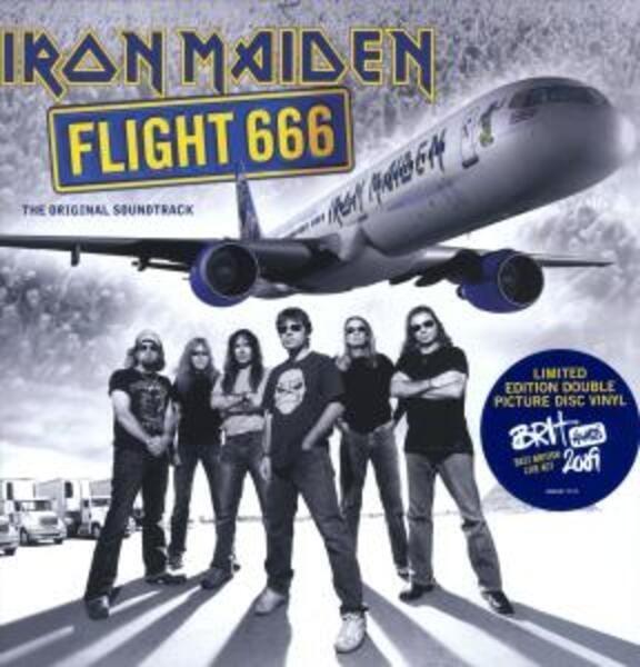 iron maiden flight 666 (picture disc)