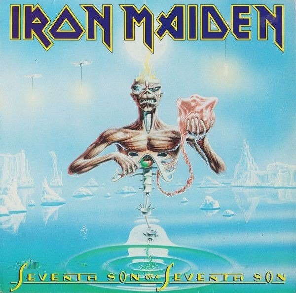 Iron Maiden - Seventh Son Of A Seventh Son (france)
