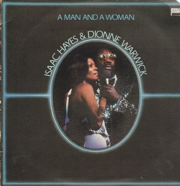Isaac Hayes & Dionne Warwick A Man And A Woman (DIE-CUT)