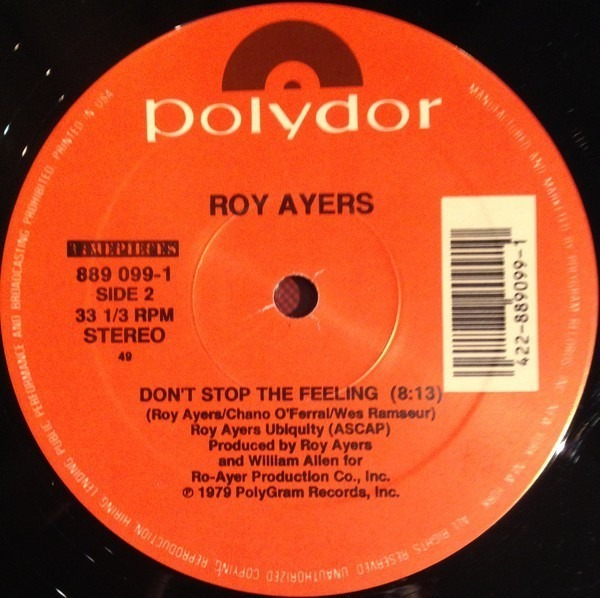 Isaac Hayes / Roy Ayers Don't Let Go / Don't Stop The Feeling