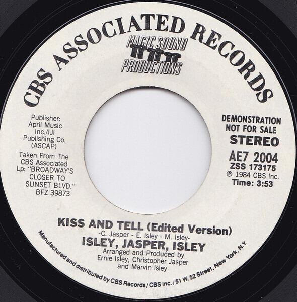 #<Artist:0x00007fd8d0cbfe20> - Kiss And Tell (Edited Version)