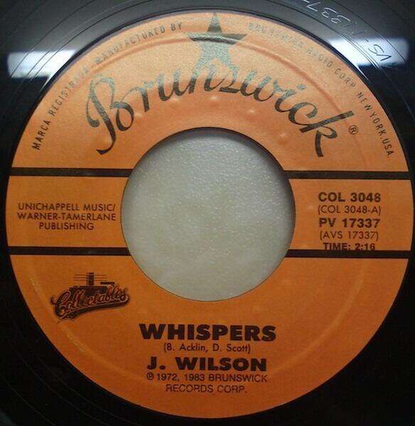 Jackie Wilson Whispers / Night