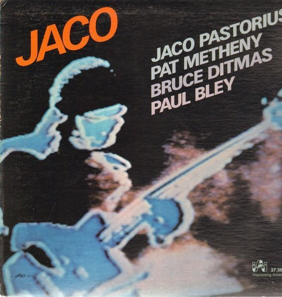 JACO PASTORIUS / PAT METHENY / BRUCE DITMAS / PAUL - Jaco - LP