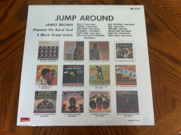 James Brown Presents The James Brown Band Jump Around (STILL SEALED)