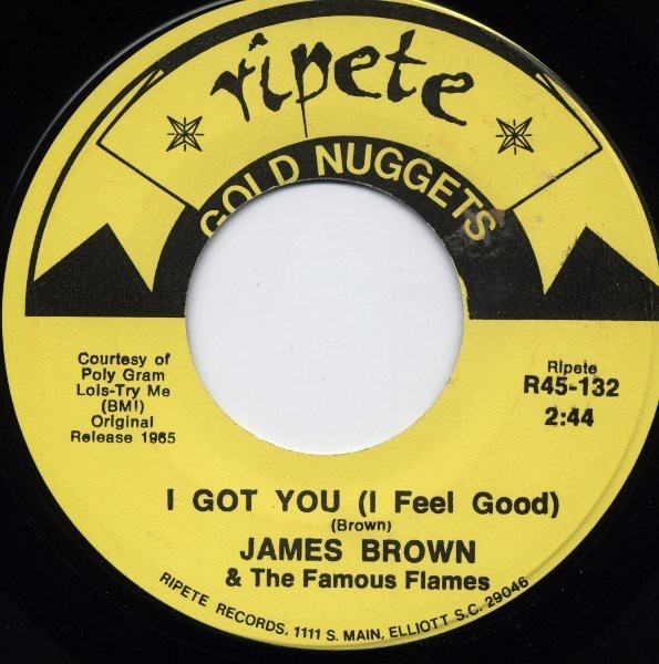 james brown & the famous flames i got you (i feel good) / cold sweat