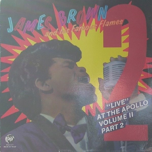 James Brown & The Famous Flames 'Live' At The Apollo Volume II (Part 2) (STILL SEALED)