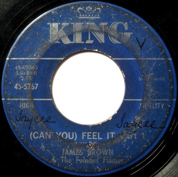 James Brown & The Famous Flames These Foolish Things / (Can You) Feel It Part 1