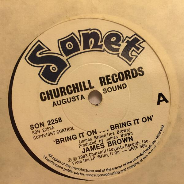 James Brown Bring It On ... Bring It On