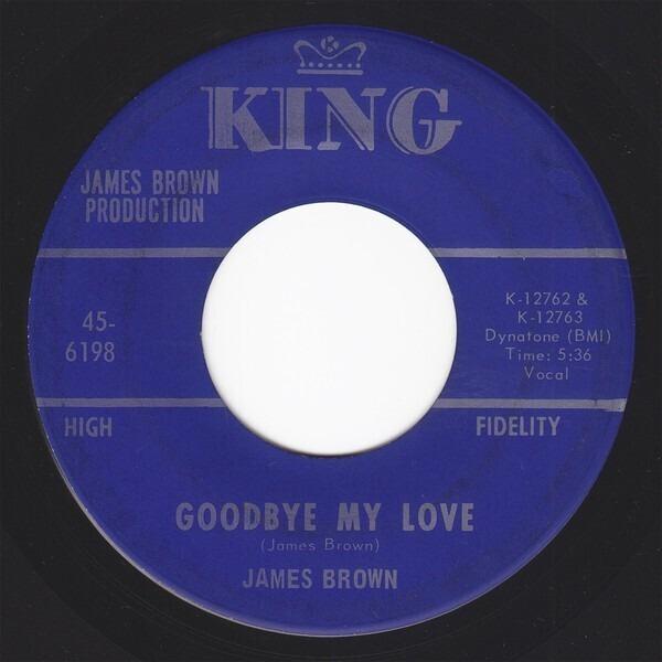 James Brown goodbye my love / shades of brown