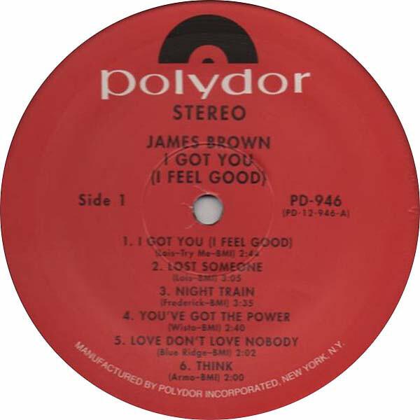 James Brown I Got You (I Feel Good) (STILL SEALED, 180G EDITION)