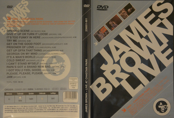 James Brown Live At Chastain Park (STILL SEALED)