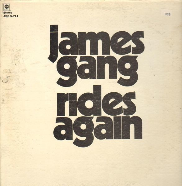 #<Artist:0x007fafd3dcf520> - James Gang Rides Again