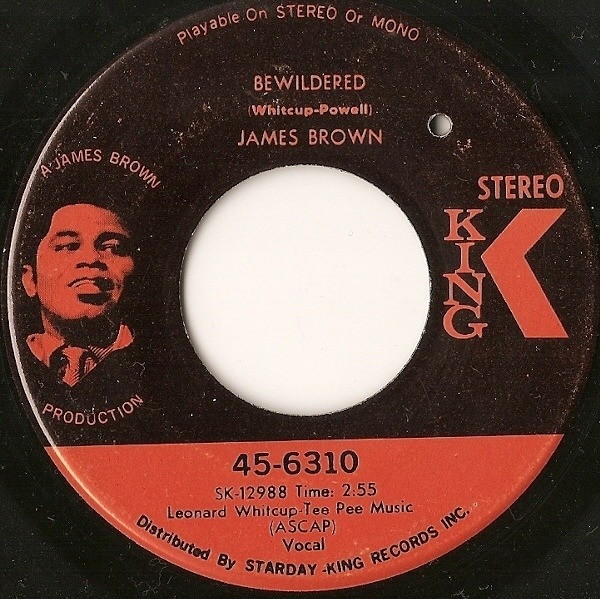James Brown Brother Rapp (Part 1) & (Part 2) / Bewildered