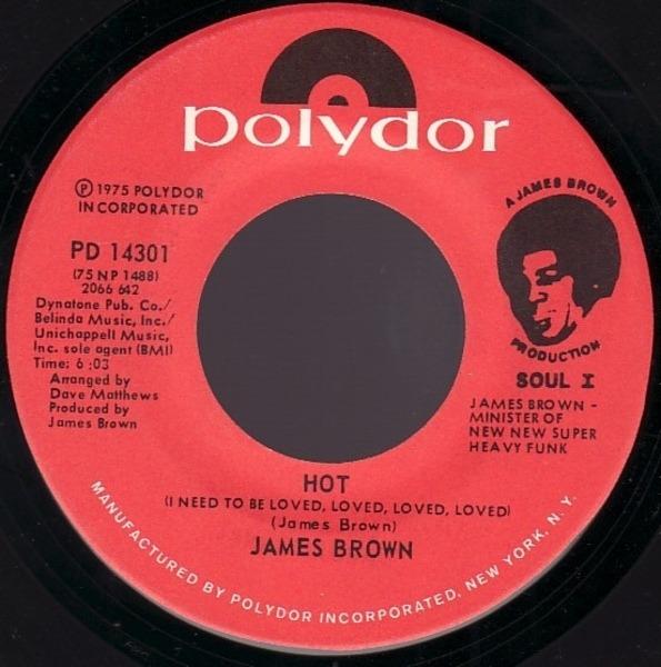 James Brown Super Bad Pt. 1 & 2