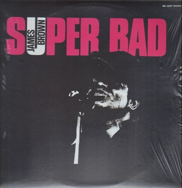 James Brown Super Bad (STILL SEALED)