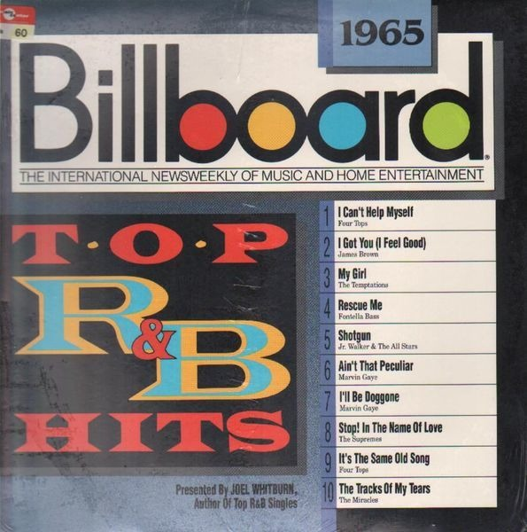 JAMES BROWN, FOUR TOPS A.O. - Billboard 1965 - LP