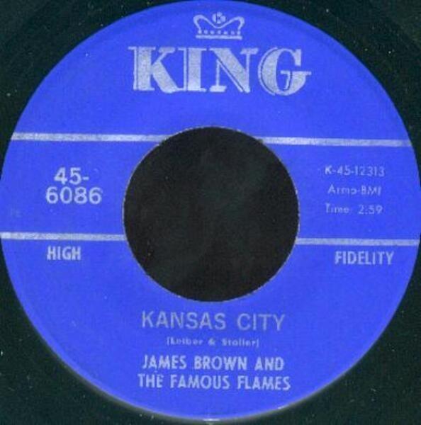 james brown & the famous flames kansas city / stone fox (rare r&b)