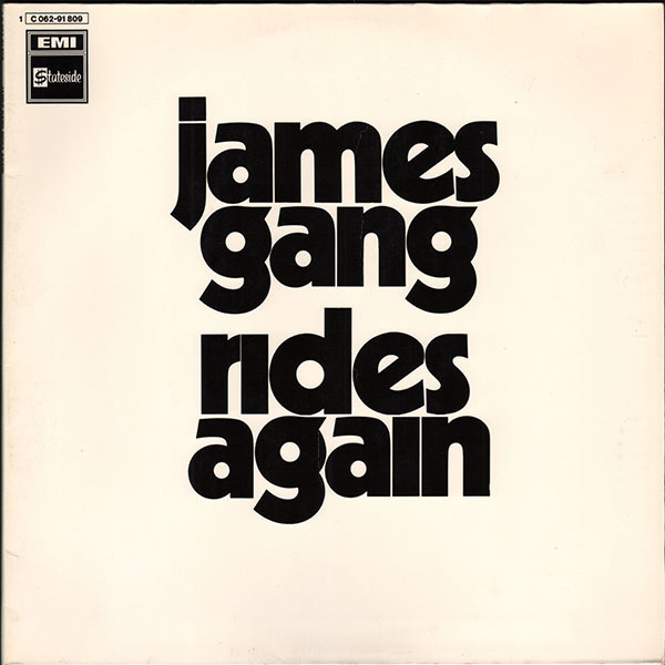 #<Artist:0x007f9ef49fbba0> - James Gang Rides Again