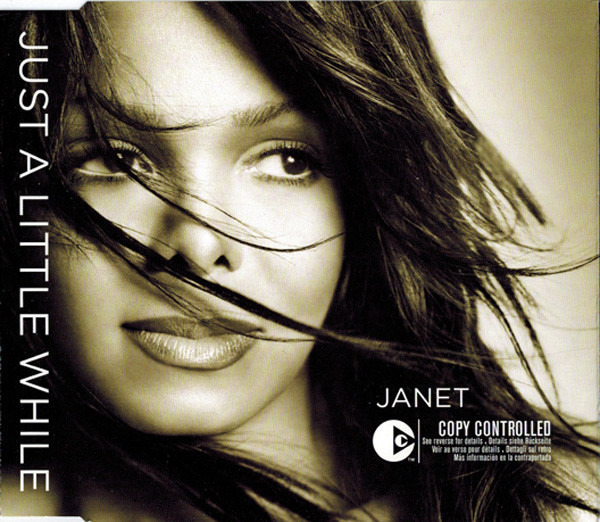 JANET JACKSON - Just A Little While - CD single
