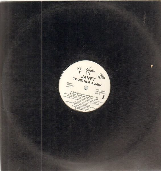 Together again by Janet, Janet Jackson, 12 inch x 2 with