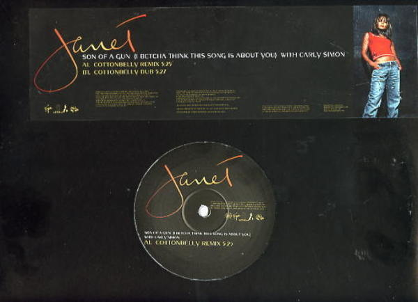 JANET, JANET JACKSON - Son Of A Gun (I Betcha Think This Song Is About You) - Maxi x 1