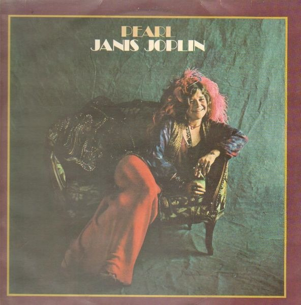 Janis Joplin Pearl Near Mint Cbs Vinyl Lp Ebay