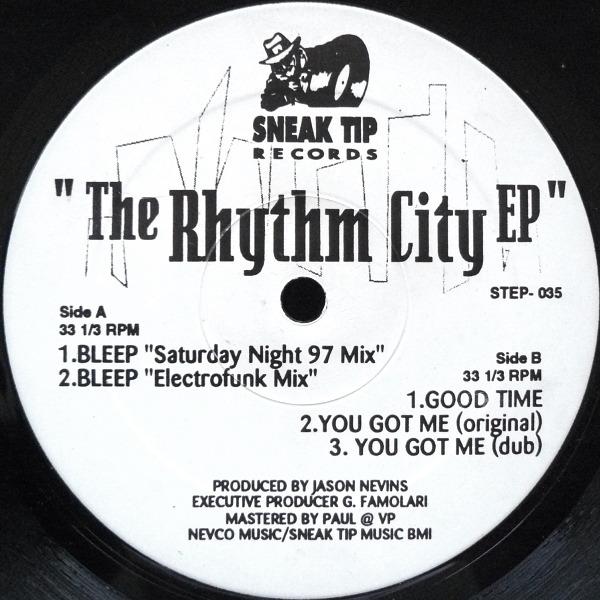 JASON NEVINS - The Rhythm City EP - Maxi x 1