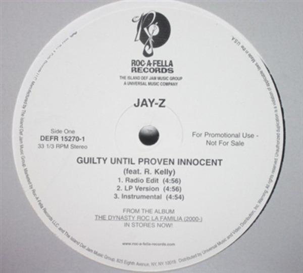 #<Artist:0x00007fce84831490> - Guilty Until Proven Innocent / 1-900-HUSTLER