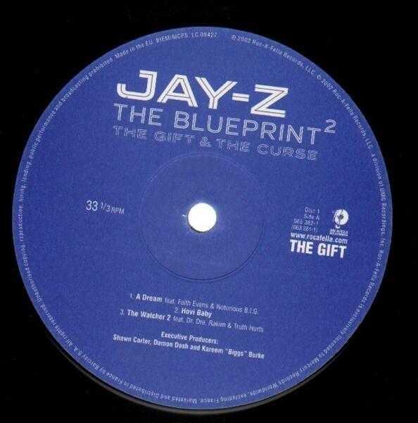 #<Artist:0x00007f8134bb22d8> - The Blueprint² The Gift & The Curse
