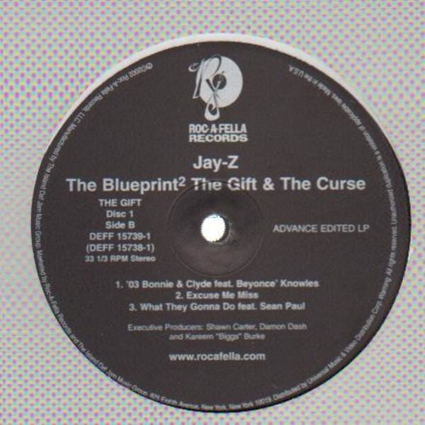 Jay z blueprint 2 records lps vinyl and cds musicstack jay z the blueprint the gift the curse promo only record malvernweather Choice Image