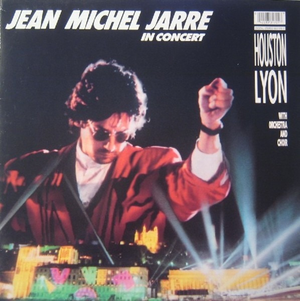 JEAN MICHEL JARRE - In Concert / Houston-Lyon - 33T