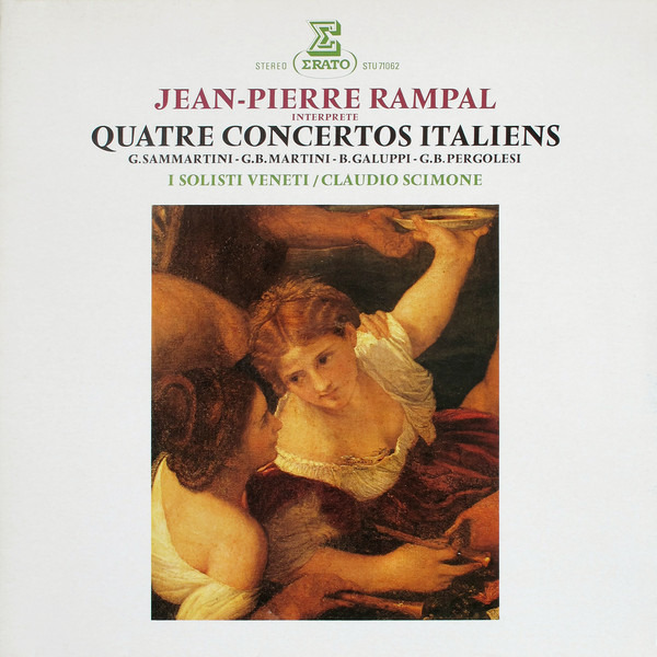 #<Artist:0x00007fcea5679aa0> - Jean-Pierre Rampal Interprete Quatre Concertos Italiens