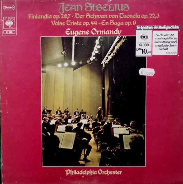 #<Artist:0x007fafb85dfe70> - Finlandia Op. 26,7 - Der Schwan Von Tuonela Op. 22,3 - Valse Triste Op. 44 - En Saga Op. 9