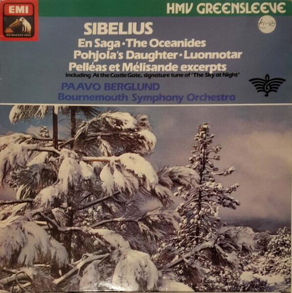 #<Artist:0x007faf49e03bc0> - Luonnotar, Op. 70 / Pelleas Et Milisande - Incidental Music, Op. 46 / En Saga, Op. 9 / The Oceanide