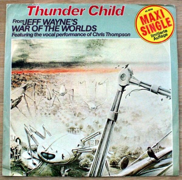 JEFF WAYNE - Thunderchild - 12 inch x 1